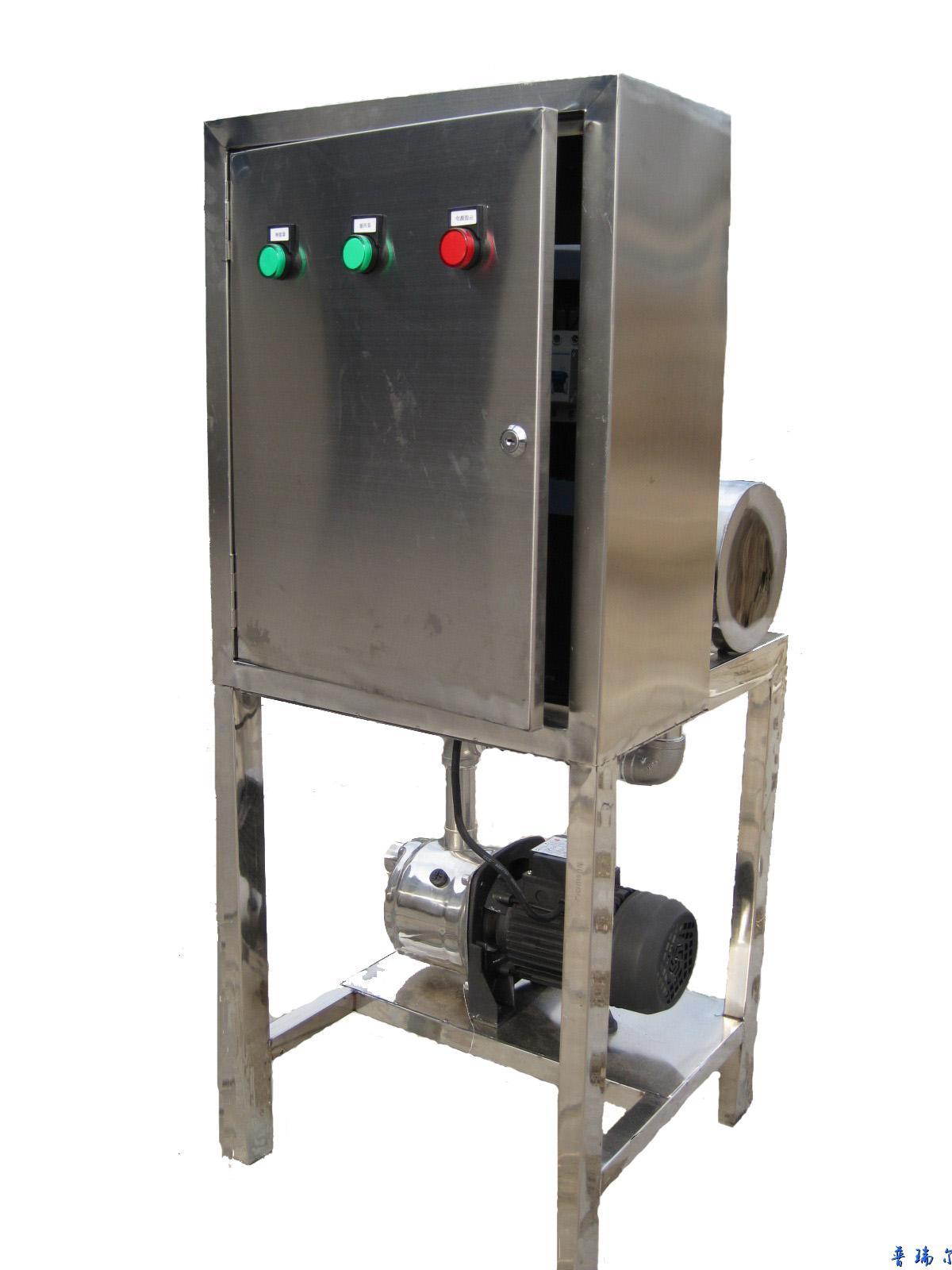能量控制器采用循环脉冲放电控制循环释能器向水中释